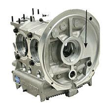 Aluminum Bubble Top HD Engine Case