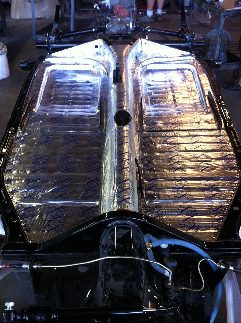 Car Craft Vw >> Floor Pan Insulation Sound Deadner Kit